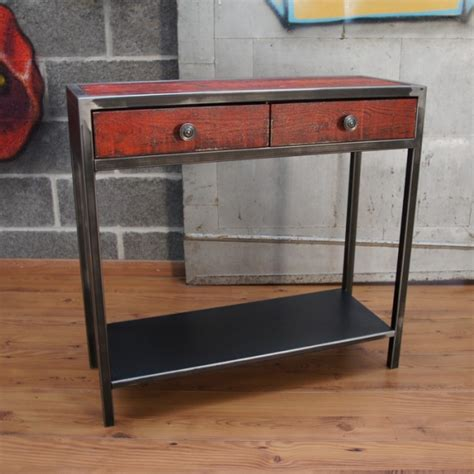 console tiroir console design console meuble