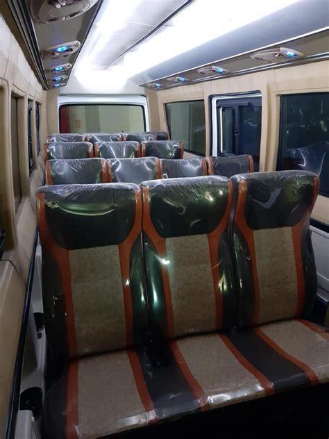 isuzu elf minibus long  seat deluxe  mobil