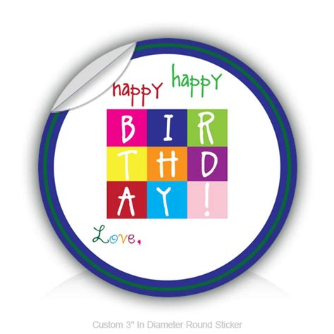 happy birthday sticker design happy birthday stickers happy birthday sticker designs