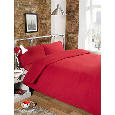 jersey comforters 301742 jersey duvet set red