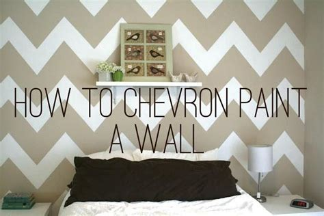 chevron walls tutorial 19 best images about wall painting techniques on pinterest