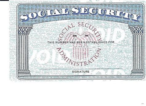 social security card template psd blank social security card template print pdf spitznas info