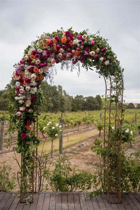 Garden Flower Arch Garden Wedding Decoration Ideas Undercover Live Entertainment