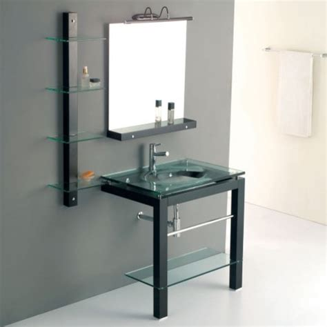 Modern Glass Bathroom Vanities Glass Bathroom Vanities Contemporary Bathroom Vanities And Sink Consoles Los Angeles By