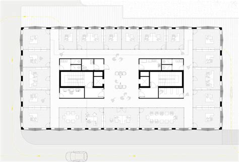 typical office floor plan ofl architecture rabatanalab nuovo palazzo della