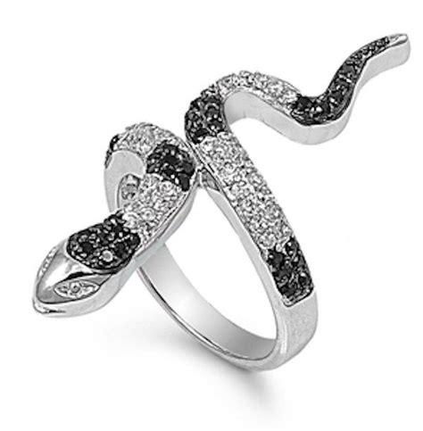 cz black rings