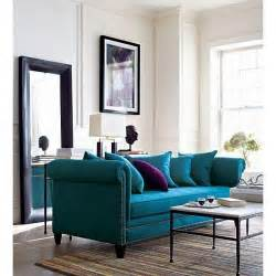 Teal blue couch amazing for the home pinterest