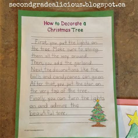 How To Decorate After by Secondgradealicious How To Decorate A Tree A