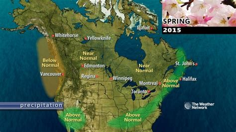 news spring outlook 2015 long range weather forecast
