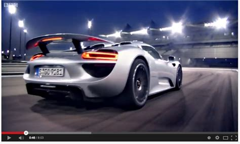 porsche hybrid 918 top gear video richard hammond from top gear bbc drives the