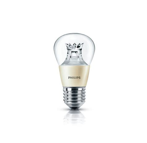 Lu Led Philips 40 Watt philips master ledluster e27 6w 40w dimtone