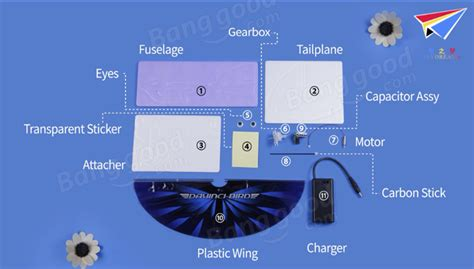 diy electric dove supercapacitor wing flapping bird banggood new products page 8 rc groups