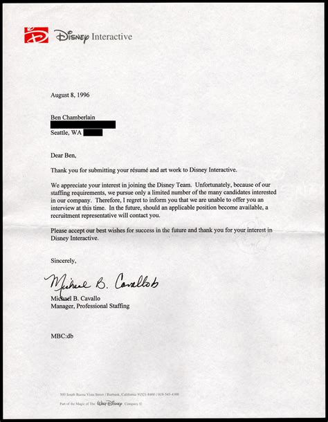 Rejection Letter Sle College college rejection letter sle how to write a letter