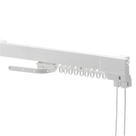 corded curtain rail swish superluxe corded curtain track set white ebay