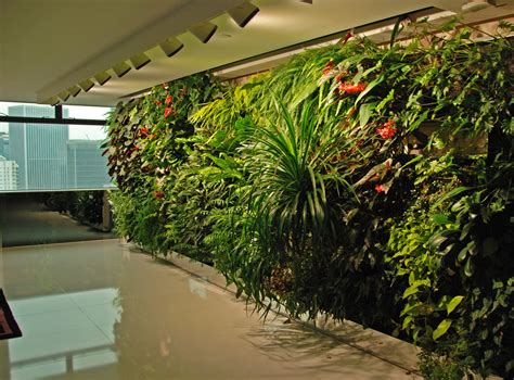 ronald lu office vertical garden patrick blanc