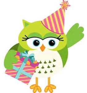 owl with birthday gift box vector vector birthday free