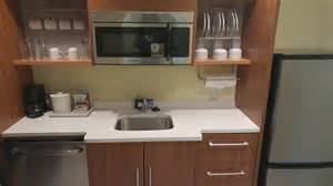 home2 suites guest room kitchen area smack dab