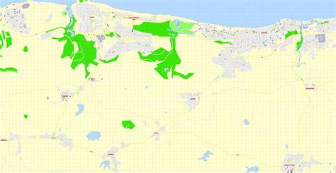 printable map havana havana printable map cuba exact vector street g view