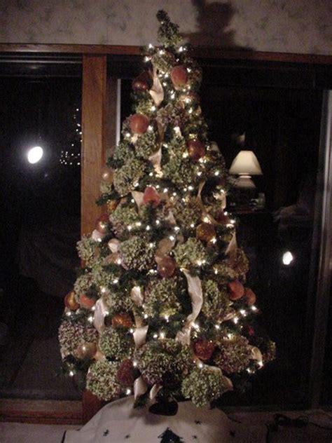 cheap easy and beautiful hydrangea xmas tree this year i