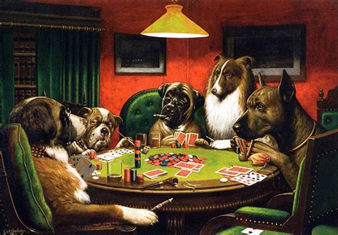 sharps nudes  dogs cards  poker  inspiration
