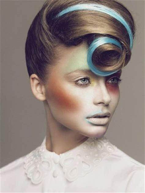 hairstyles games and makeup avant garde hairstyles avant garde hairstyle with blue