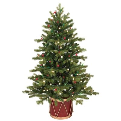 ge colorado spruce christmas tree light replacements ge 4 ft spruce incandescent artificial tree lowe s canada
