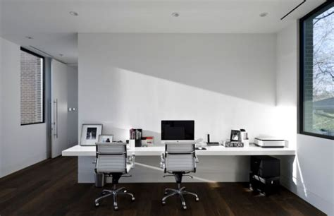 minimal office 30 shared home office ideas that are functional and beautiful