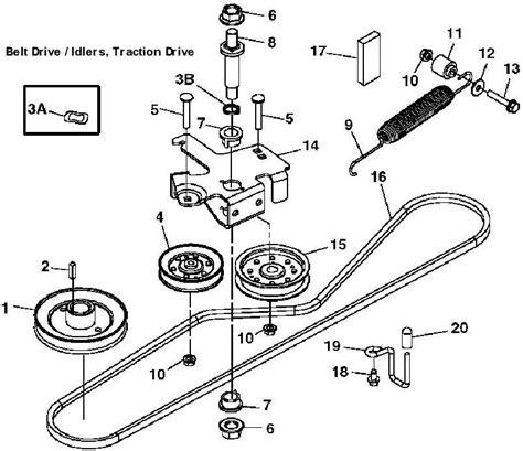 deere 210 belt diagram deere x300 drive belt diagram wiring diagrams