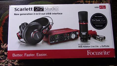 Focusrite Studio 2i2 Studio 2nd Generation Free Pop Filter раскоробкинг жыыырного звука focusrite 2i2 studio 2nd