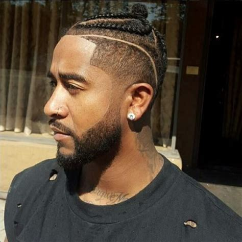 haircut with part shaved in men black hairstyle and haircuts black men braided hairstyles with shaved sides 2016 men