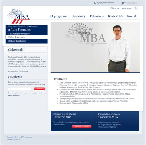 Uclexecutive Mba Programs by Fluid Interactive Agency Executive Mba Program In Poznan
