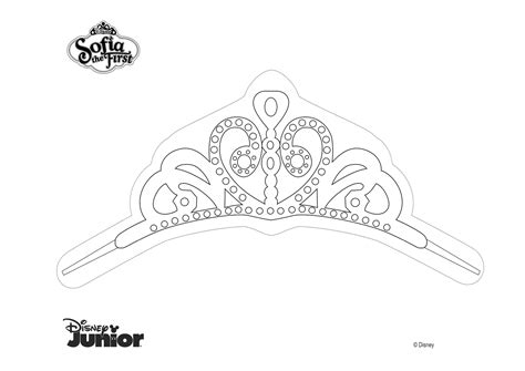 dibujos de princesas para colorear corona de princesa corona de princesa sof 237 a para colorear princesas disney