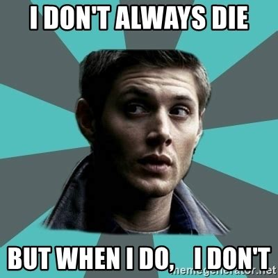 Winchester Meme - typical dean winchester meme generator
