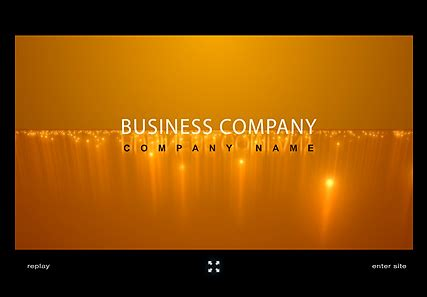 Business Company Flash Intro Website Template Best Website Templates Flash Template Presentation
