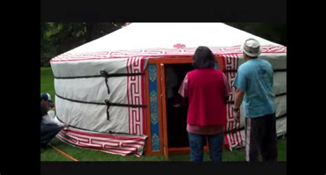 portable guest house how to build a yurt your small portable guest house truth and action