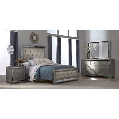 Angelina 6 Pc Queen Bedroom Value City Furniture Value City Furniture Bedroom Set