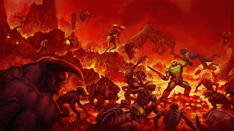 Hell On Earth doom hell on earth ps4wallpapers