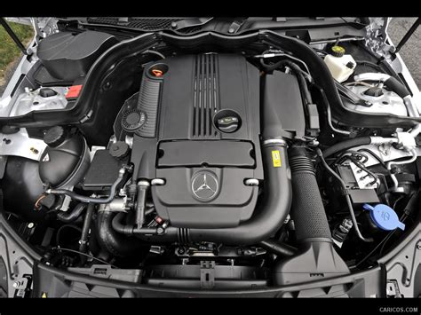 mercedes benz  engine wallpaper