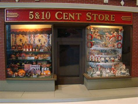 five and dime store at pineville ky 5 10 cents store 17 best images about miniature store fronts on pinterest