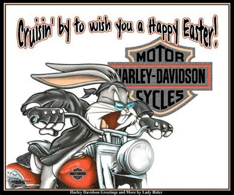 Cooles Motorrad F R Anf Nger by Happy Easter Harley Davidson Autos Und
