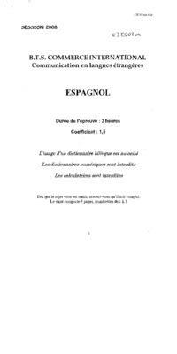 Presentation Normalisee De La Lettre Commerciale lettre commerciale espagnol pdf notice manuel d utilisation