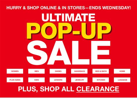 How To Use Macy S Gift Card Online - macy s ultimate pop up sale magic style shop