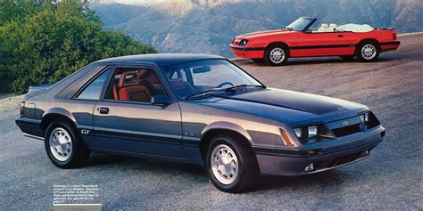 1986 Ford Mustang by 1986 Ford Mustang Colors