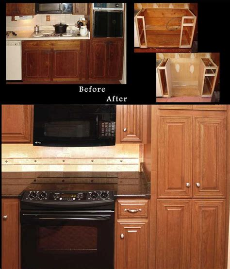 refaced kitchen cabinets reface cabinets before and after reno nv refaced