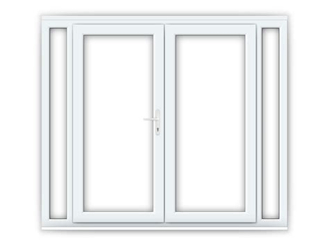 narrow patio doors 6ft upvc doors with 2 narrow upvc side panels