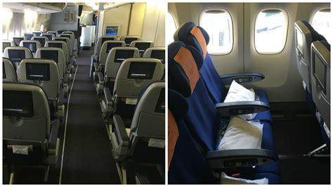 klm extra comfort seats seatguru klm 777