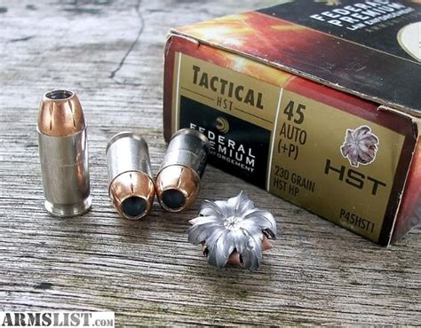 armslist for sale trade federal hst 45acp 50 rounds