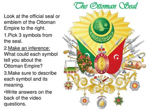 Ottoman Empire Ppt Ppt The Ottoman Empire Powerpoint Presentation Id 6032688