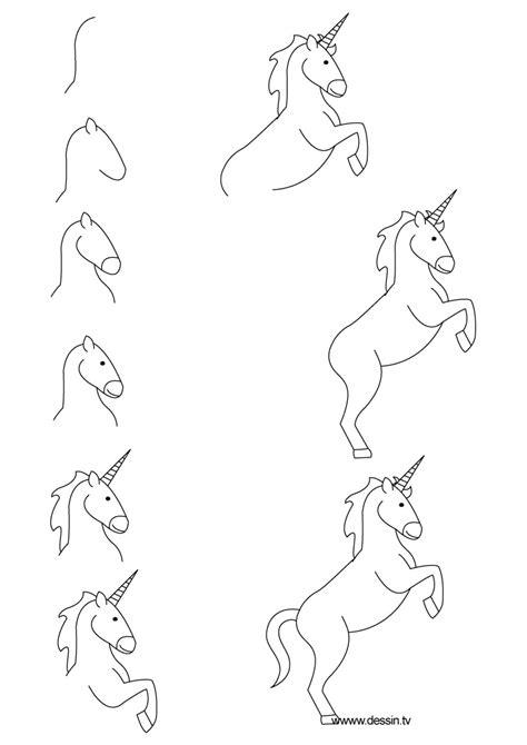 unicorn step by step drawing unicorn