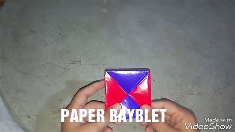 How To Make A Paper Beyblade - how to make a paper beyblade my crafts and diy projects